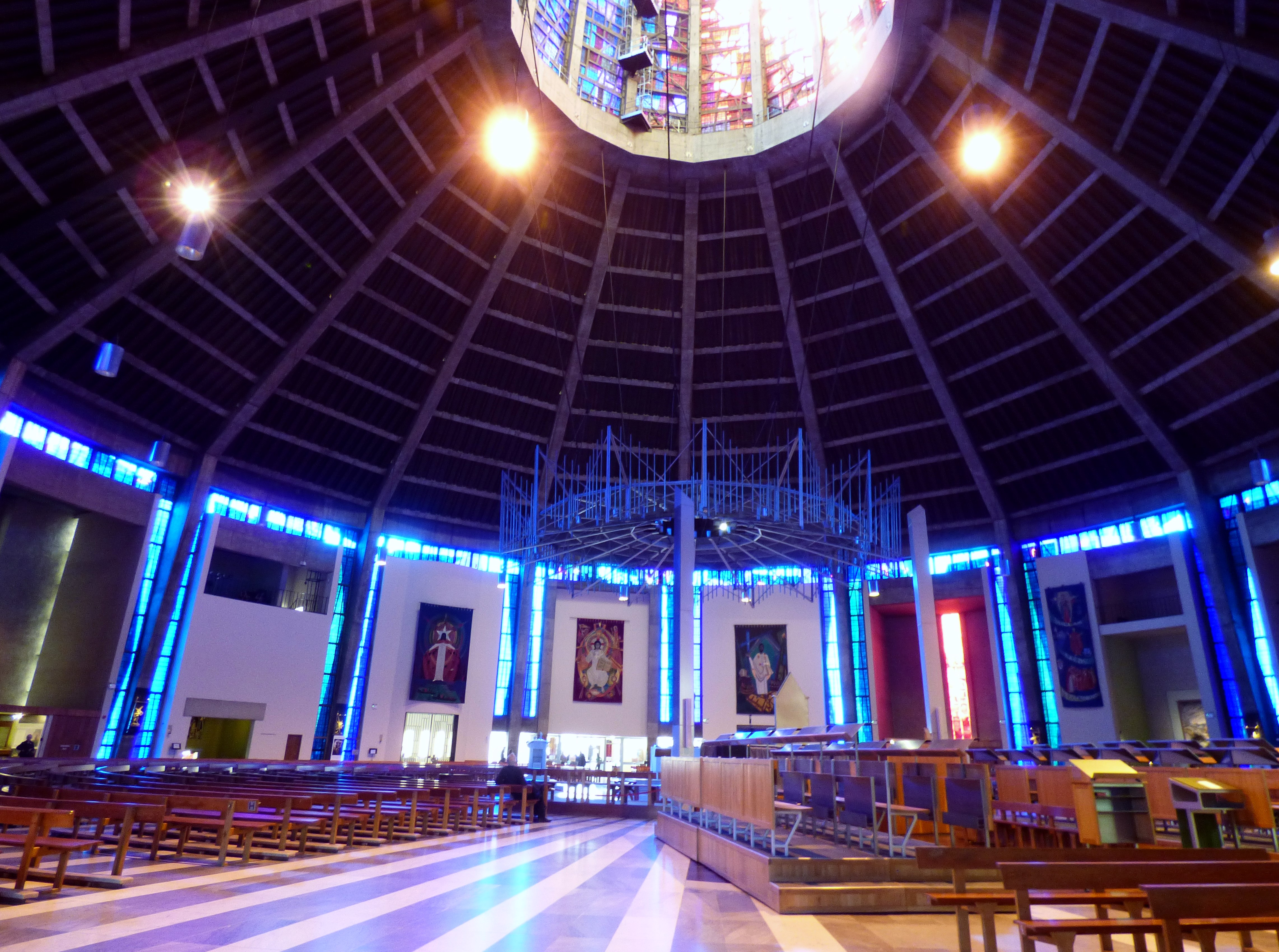 interior of Liverpool Metropolitan Cathedral