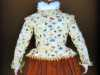 "slide showing Plimoth Plantation jacket, ""Embroidery of a Jacobean Lady"" Talk by Caroline Richardson, Jan 2019"