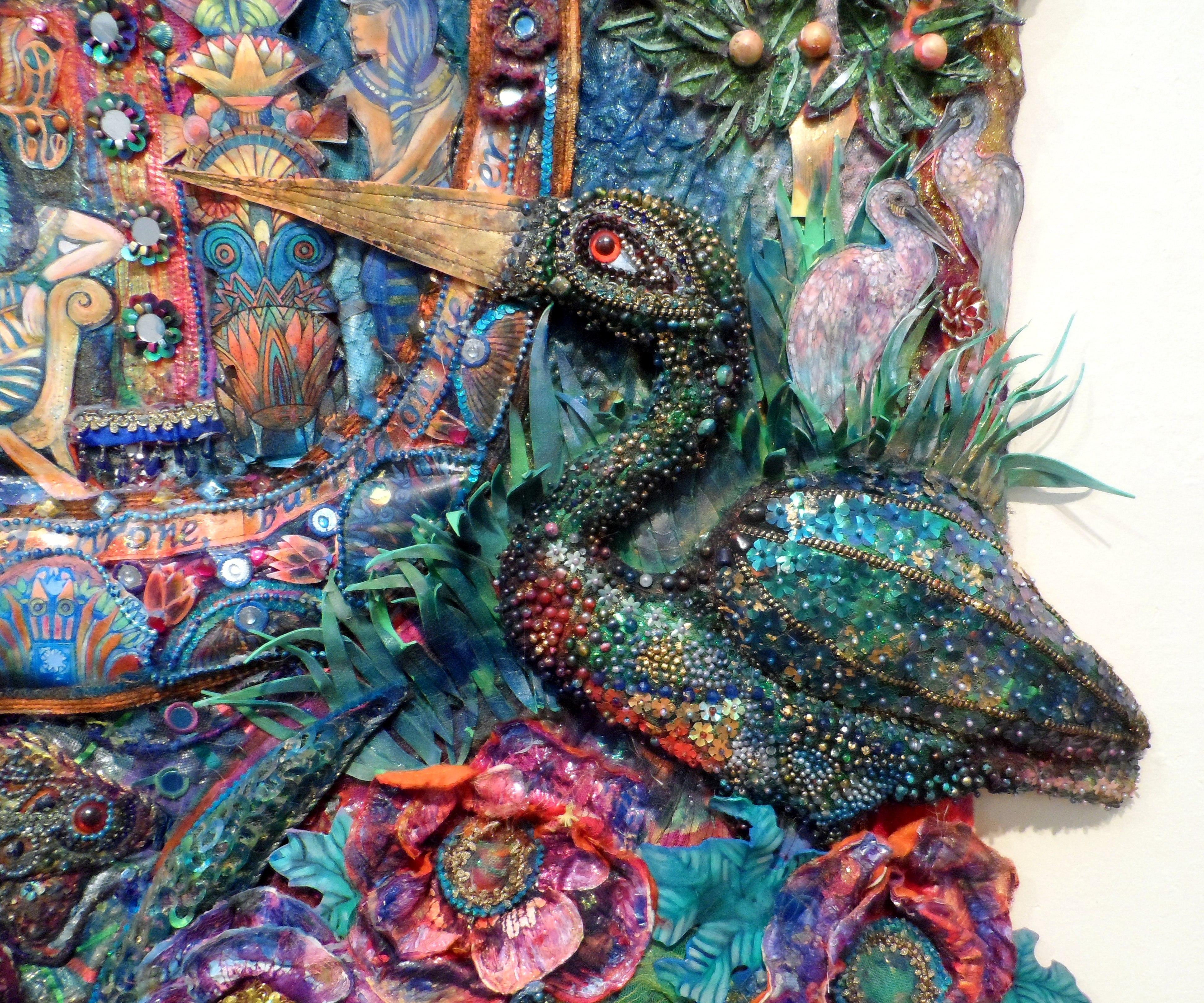 (detail) CLEOPATRA by Nikki Parmenter, Williamson Gallery, 2019