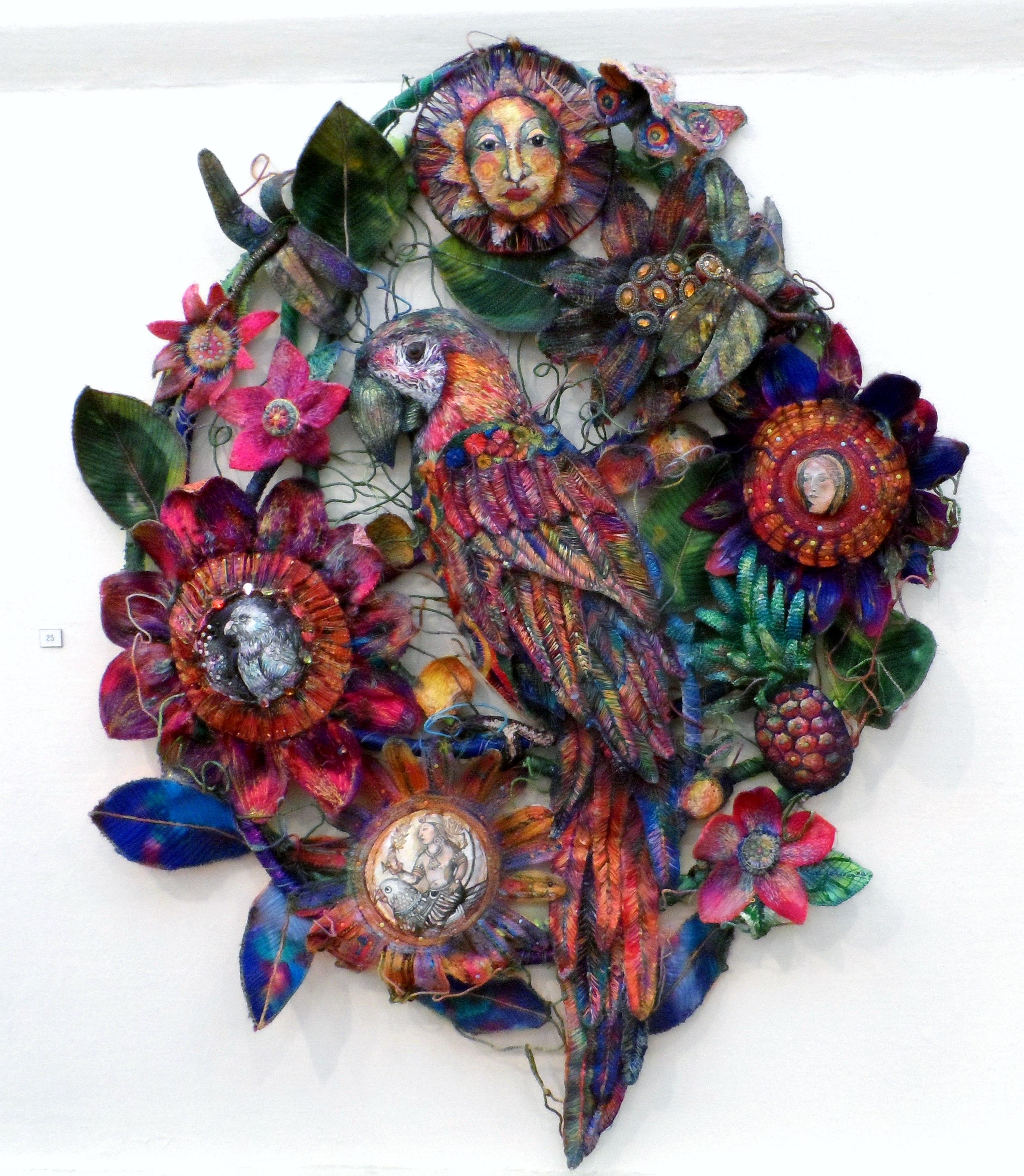 DURER'S PARROT by Nikki Parmenter, Williamson Gallery, 2019