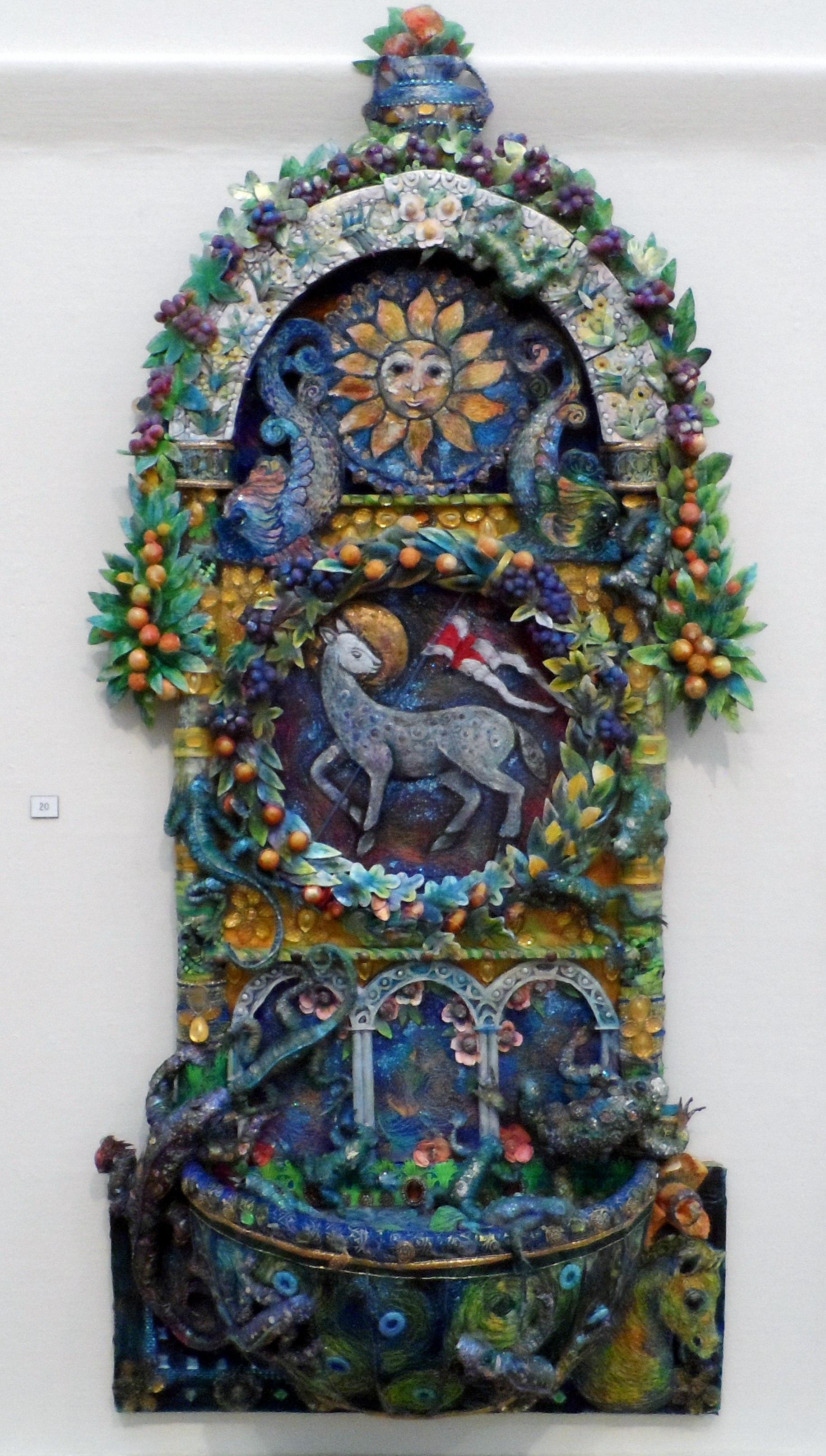 LA FONTANA by Nikki Parmenter, Williamson Gallery, 2019
