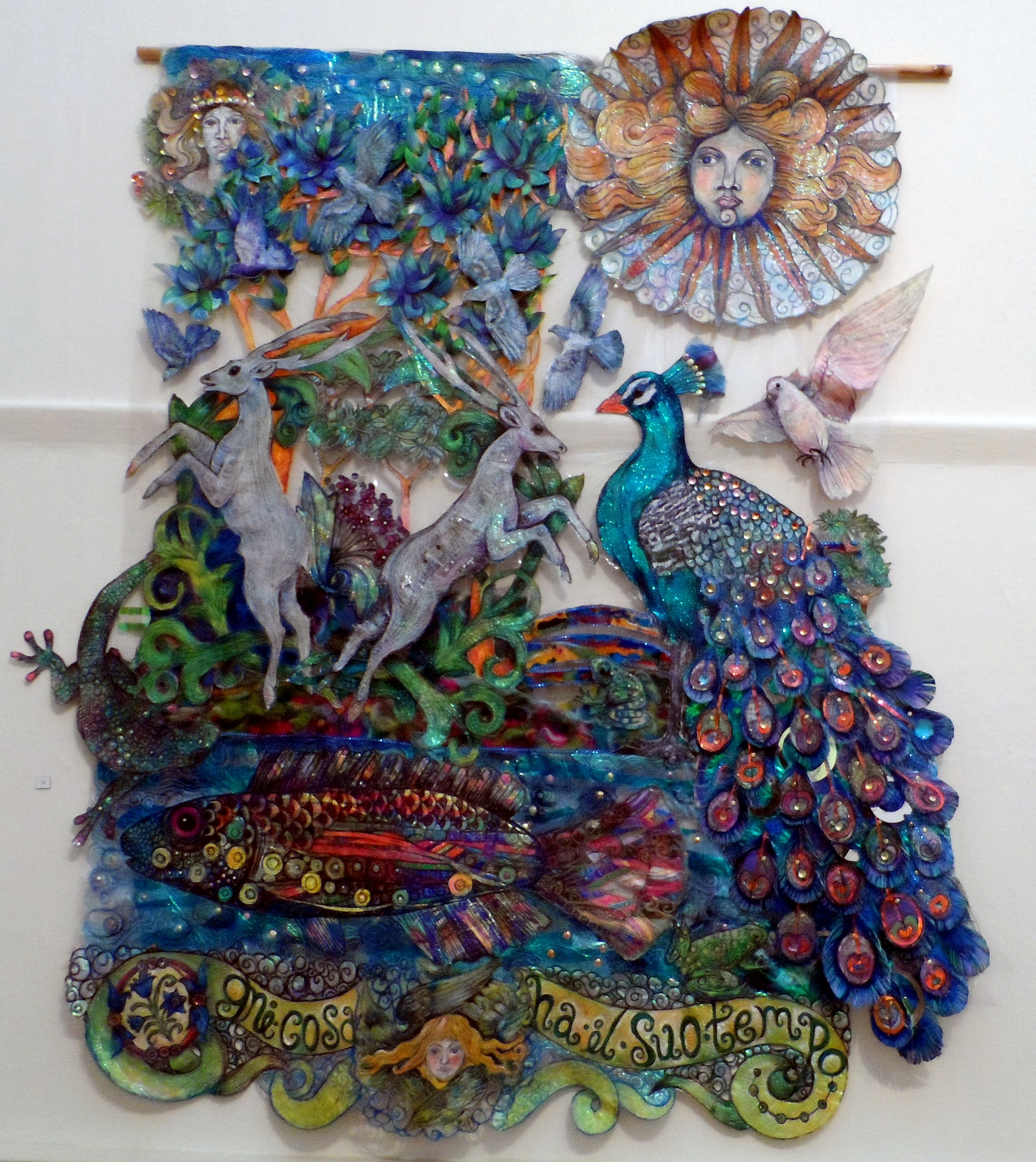 THE DREAM OF THE HUNTSMAN by Nikki Parmenter, Williamson Gallery, 2019
