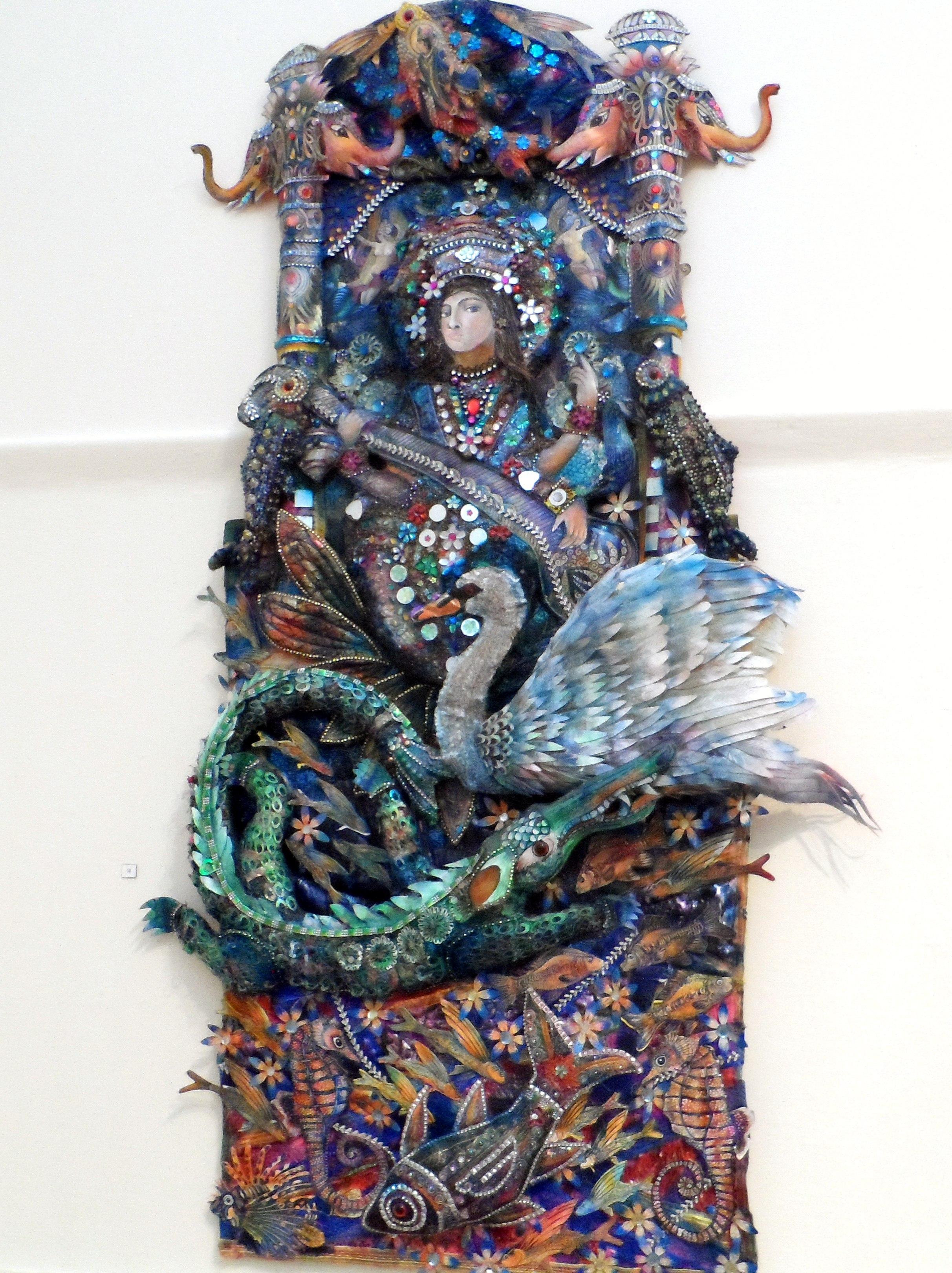 SARASVATI by Nikki Parmenter, Williamson Gallery, 2019