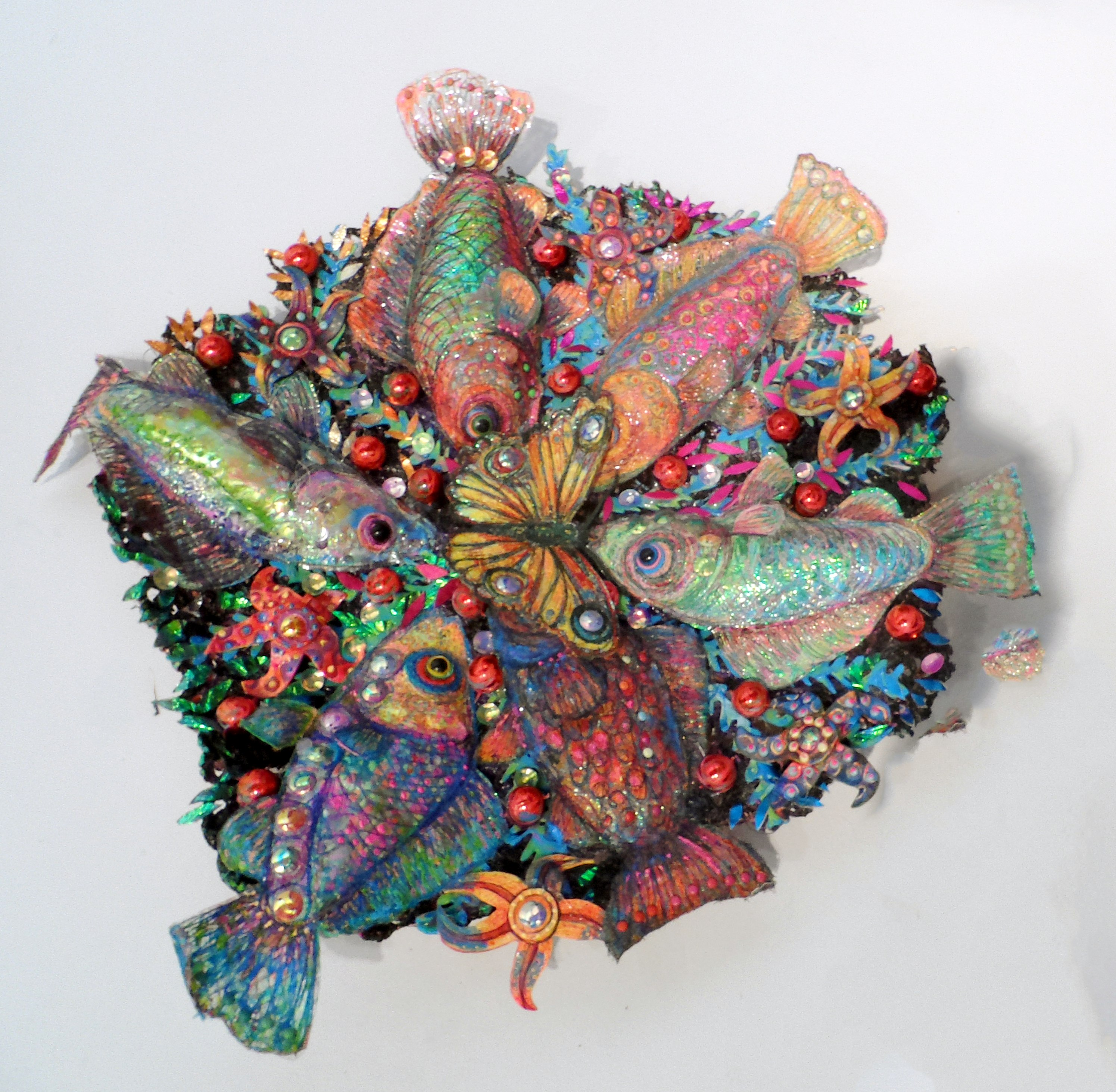 FISH DISH by Nikki Parmenter, Williamson Gallery, 2019