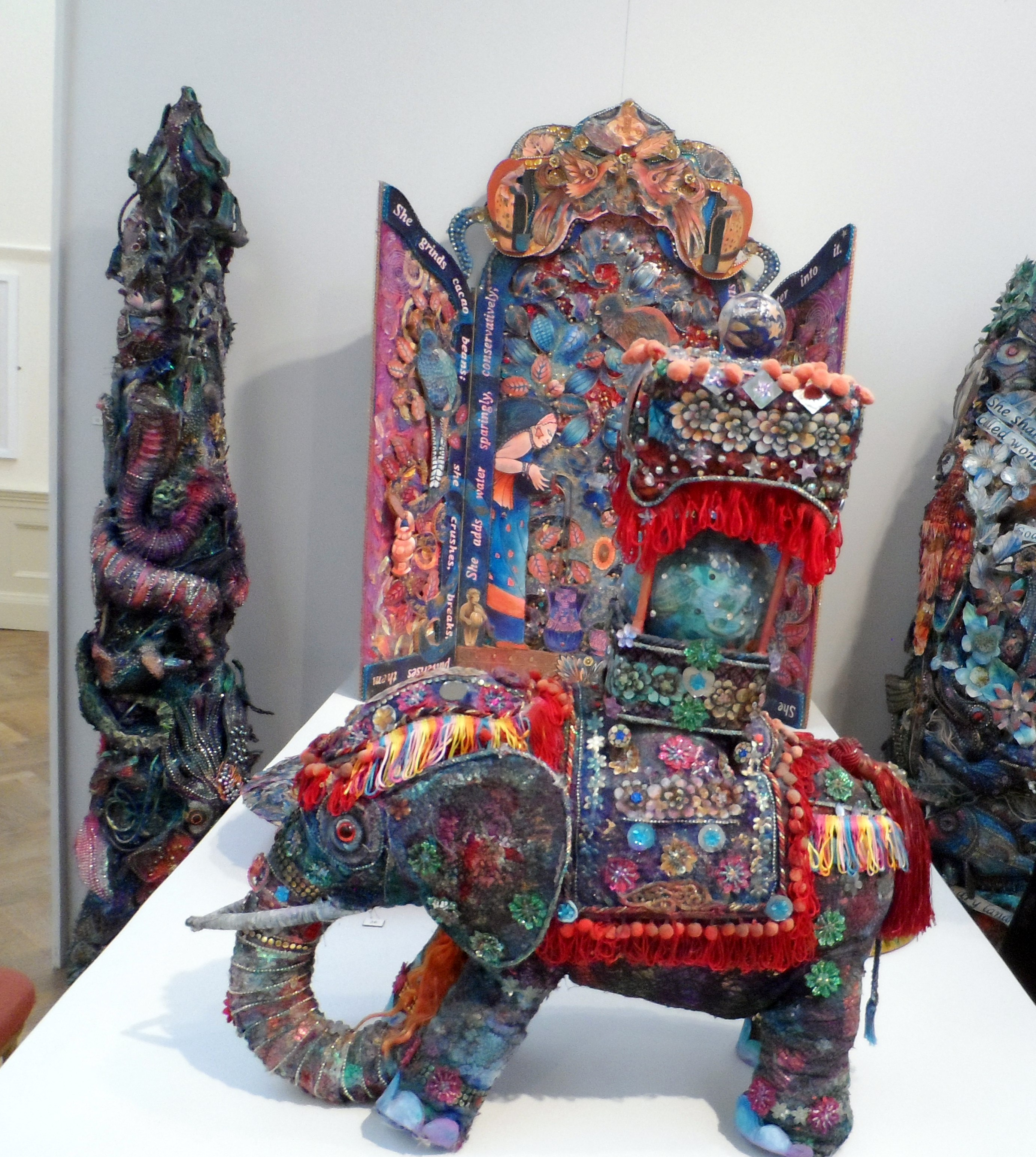 INDIAN ELEPHANT by Nikki Parmenter, Williamson Gallery, 2019