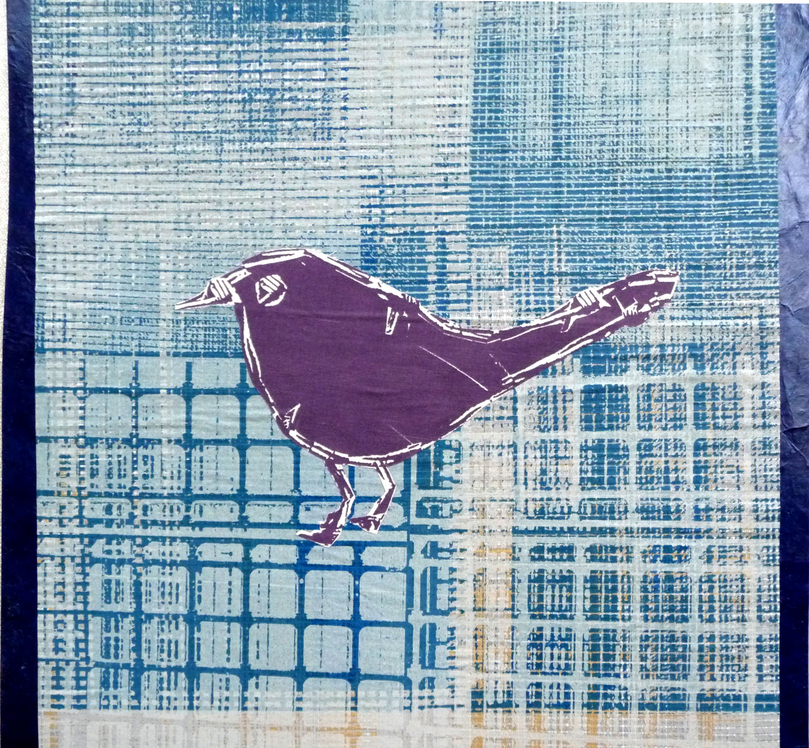 bird image printed on paper by Christine Toh