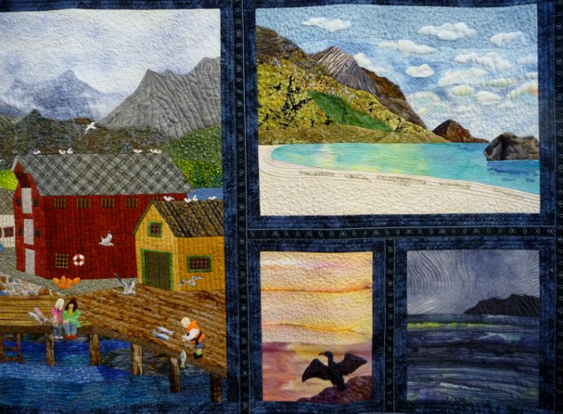 CALENDAR (detail ) by Salvi L. Kiokeide, Norway