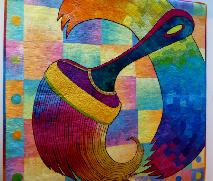ARTFABRIK by Laura Wasilowski,USA, 2004