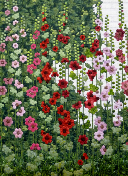 detail of quilt by Ans Shippier, OEQC Best of Show 2012