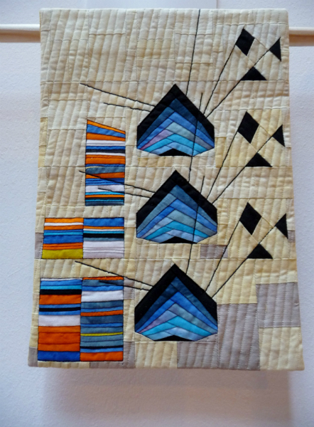 CATCH OF THE DAY - miniature quilt