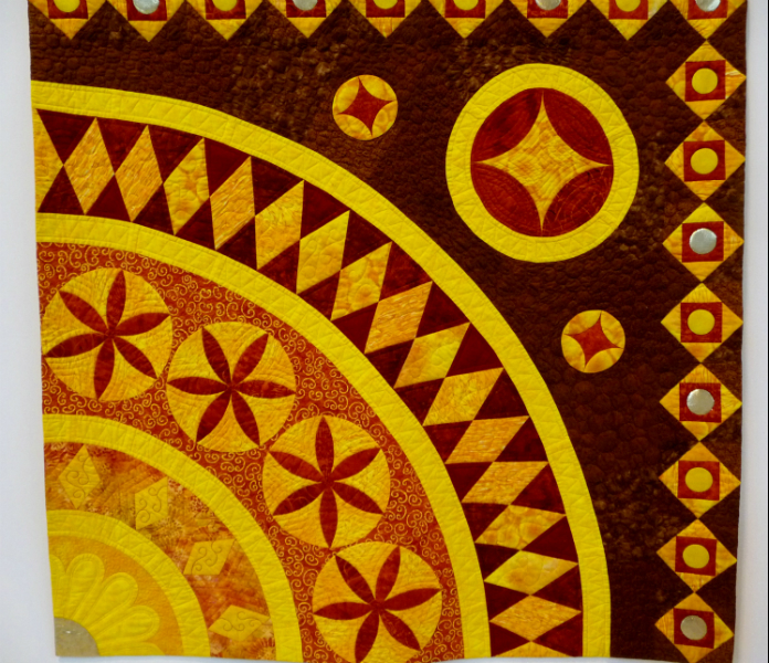 BYLAND PIECES, winner of Contempory Quilts 2012