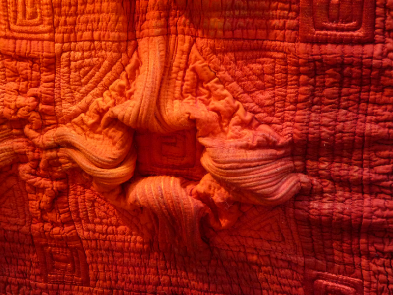 detail of SQUARING UP by C June Barnes