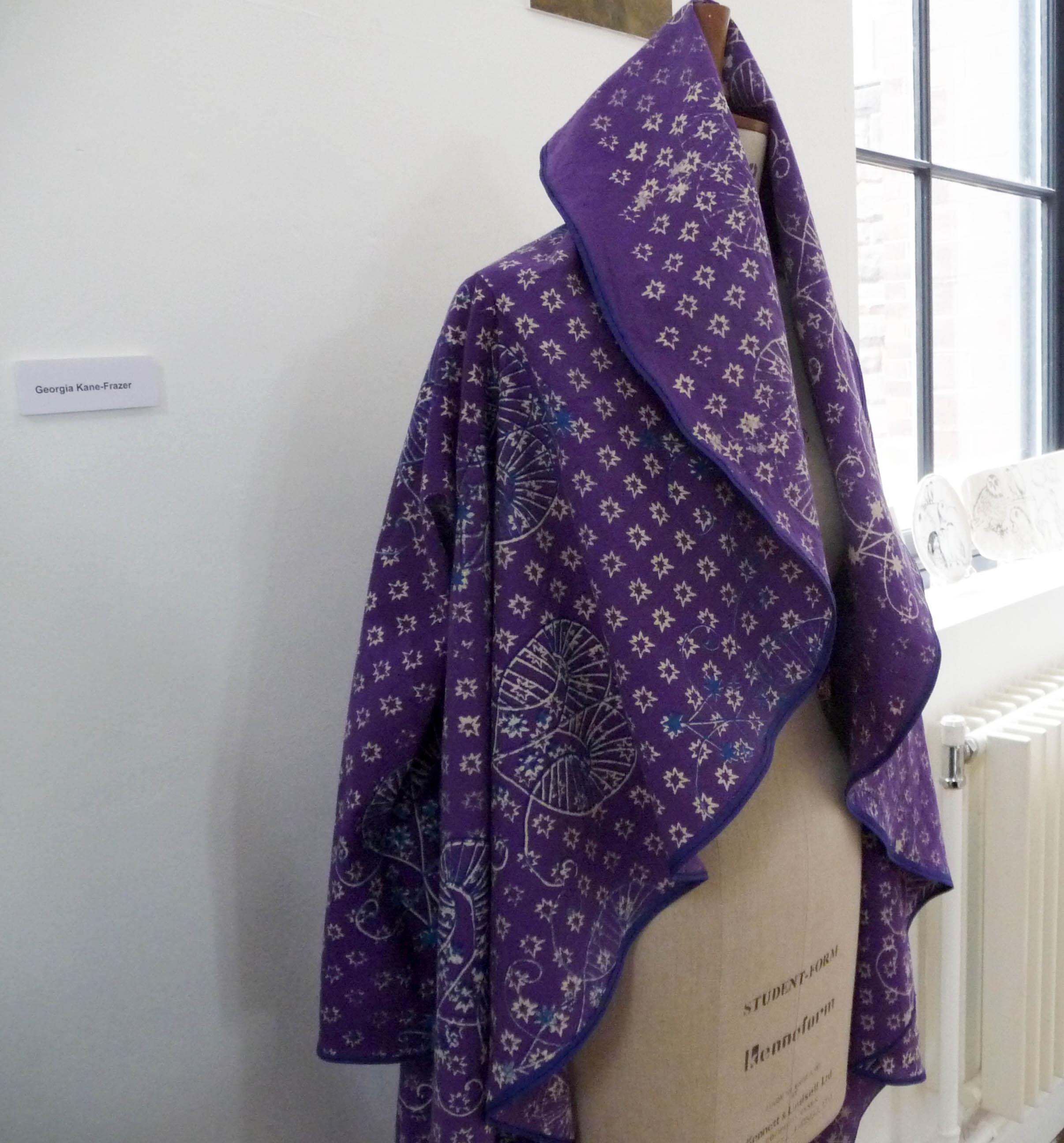 textiles by Georgia Kane Frazer, Liverpool Hope Univ Art Degree Show 2014