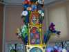 (detail) FLOWER POWER TOWER by Nikki Parmenter, Gawthorpe Hall, Sept 2020