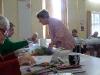 Linda Rudkin & Flower Pounding WORKSHOP. 2011
