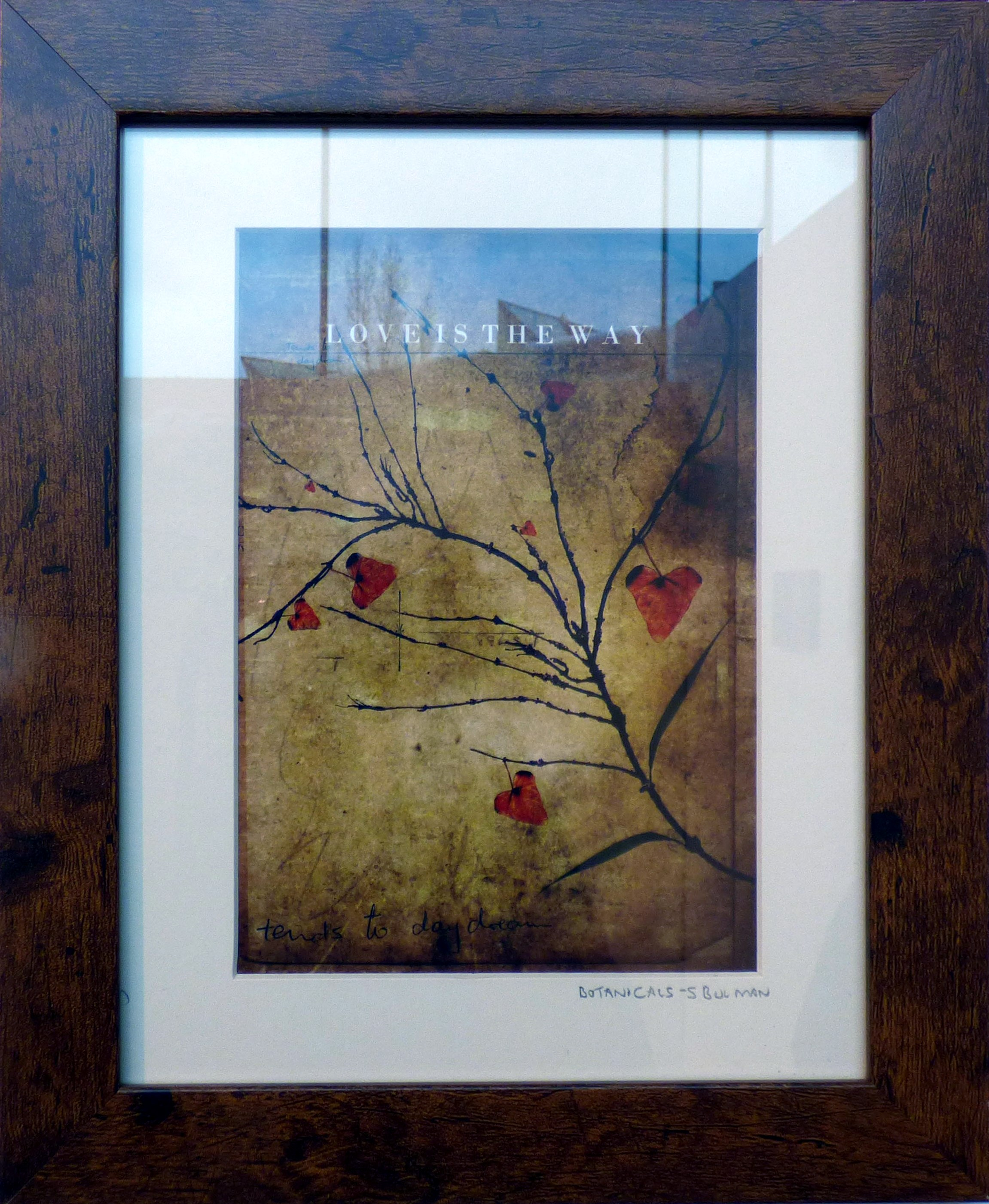 LOVE IS THE WAY by Stuart Bulman. From The Heart exhibition, St Helens, Feb 2020