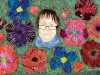 FLOWERS FOR MARIE by Gill Roberts, embroidery 2020
