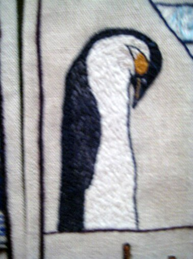 Panel of the Great Tapestry of Scotland (detail)