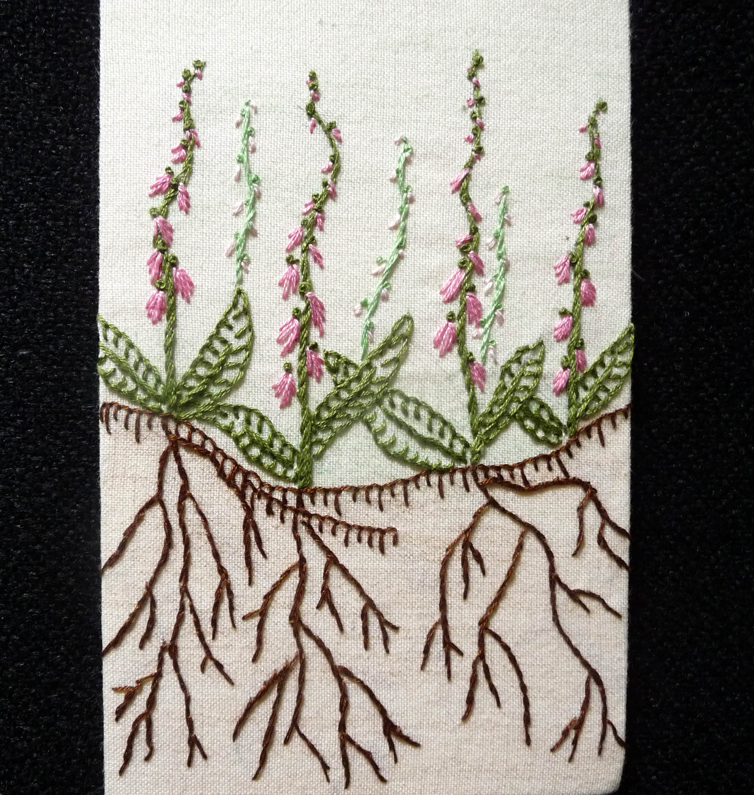 GROWTH postcard by Val Heron