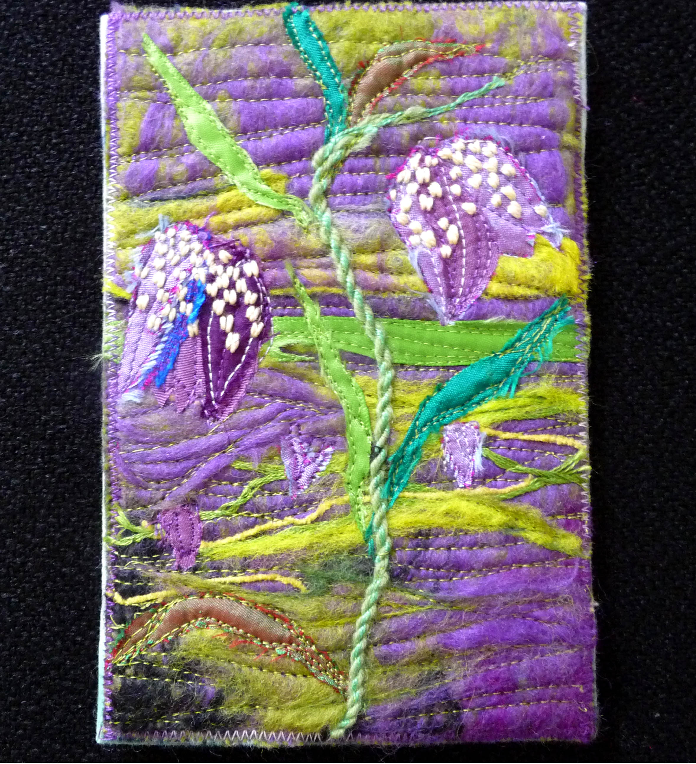 GROWTH postcard by Norma Heron