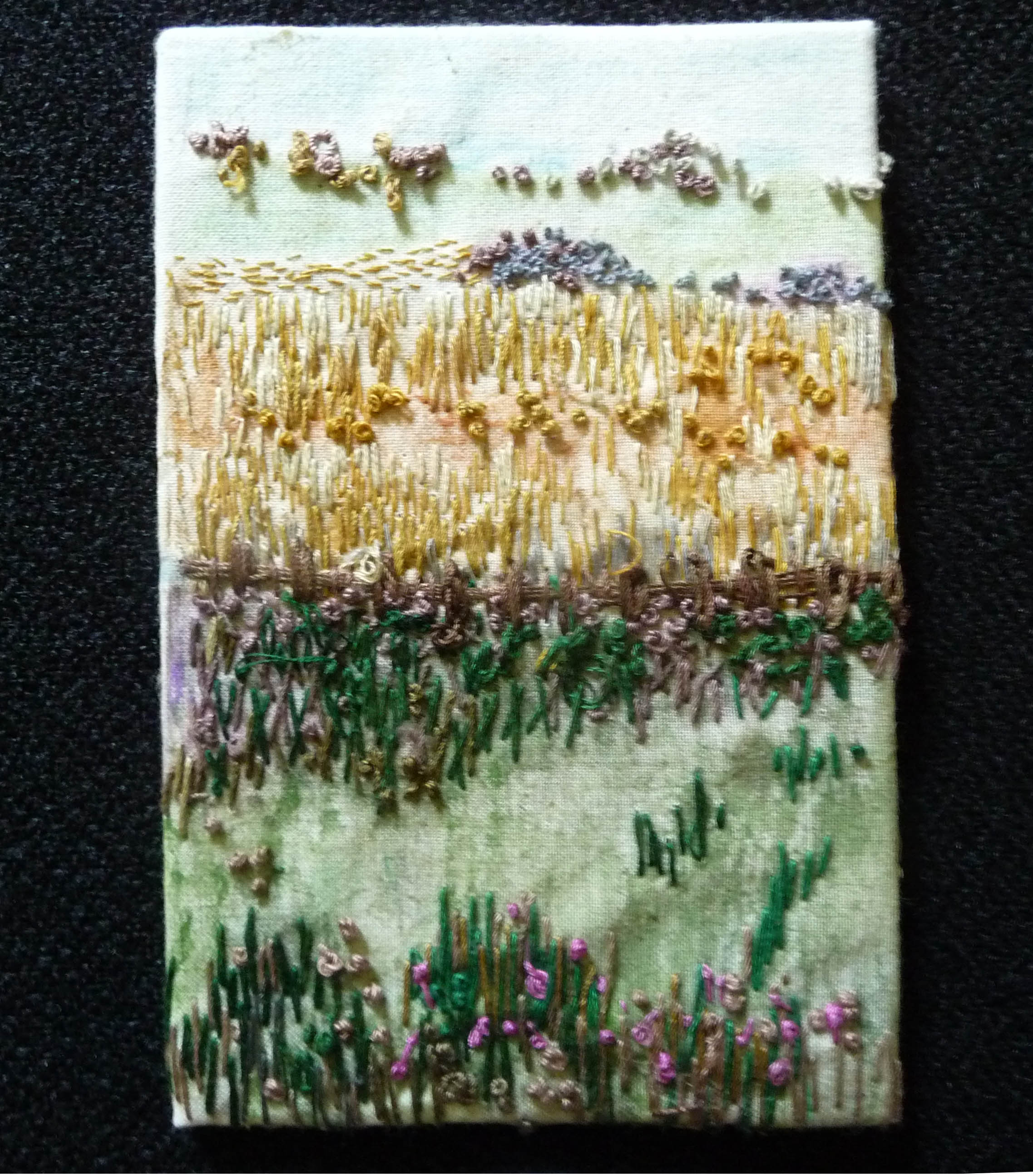 GROWTH postcard by June Hodgkiss