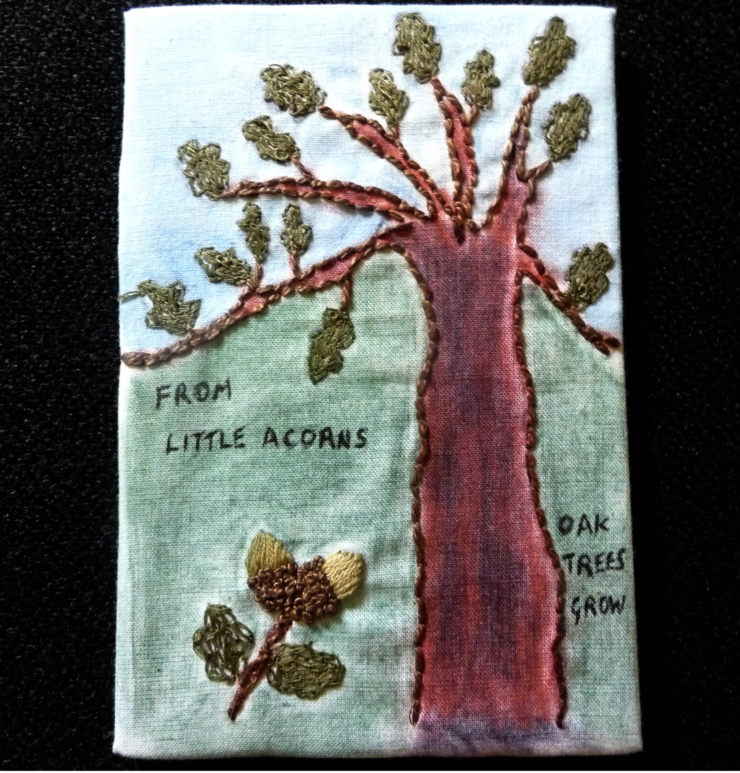 GROWTH postcard by Dilys Parry