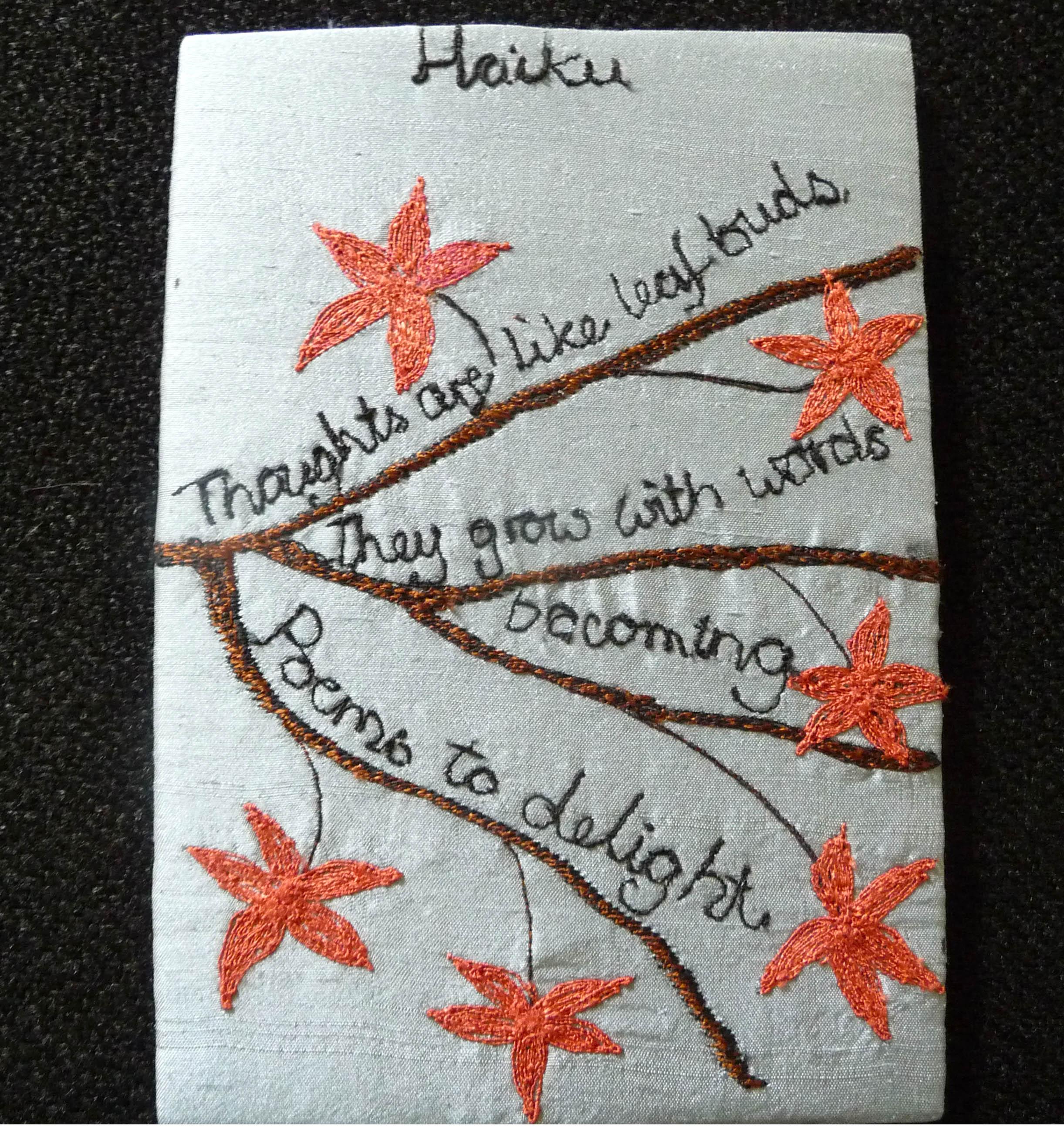 GROWTH postcard by Ann Rogers