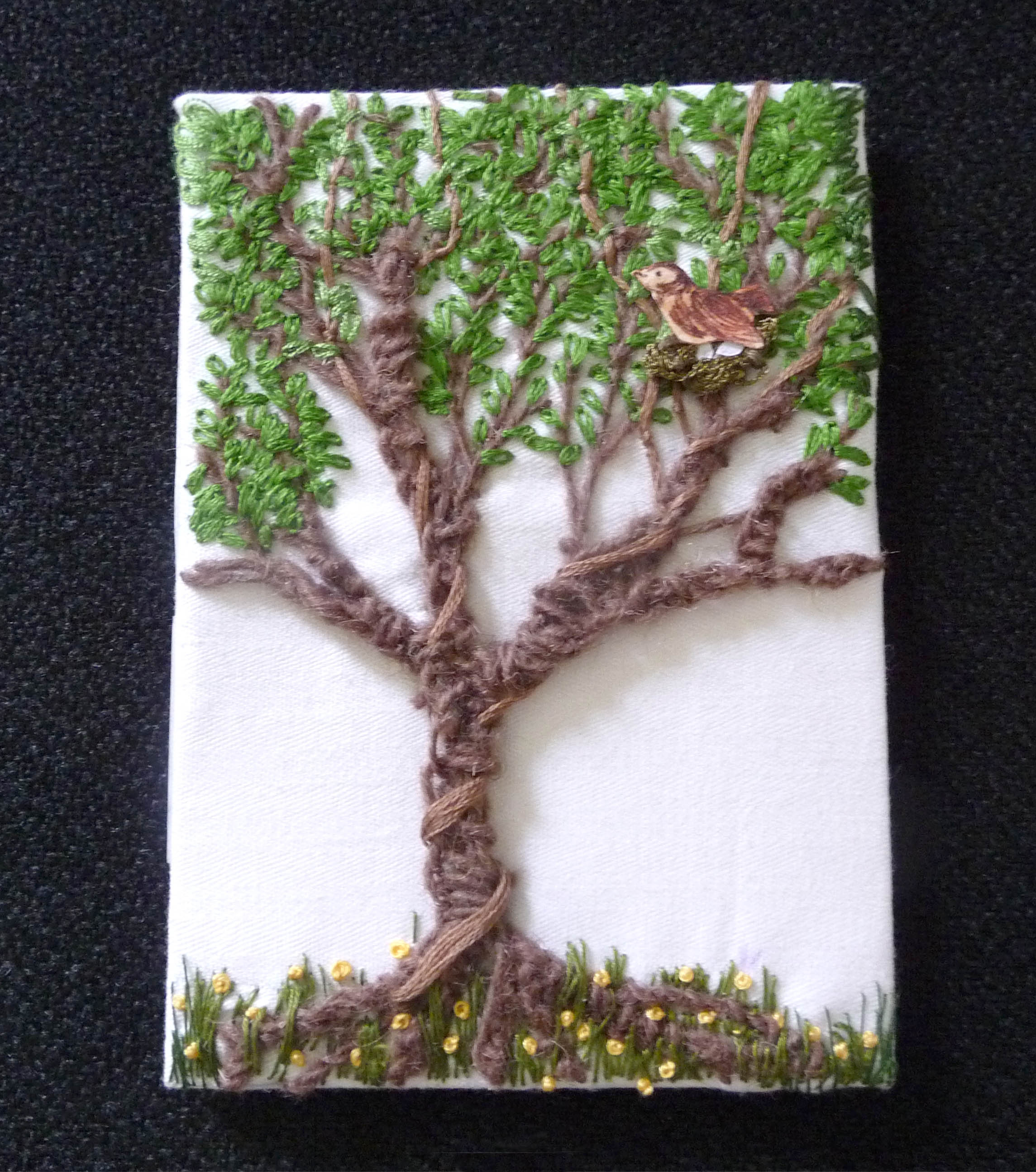 GROWTH postcard by Rose Chambers