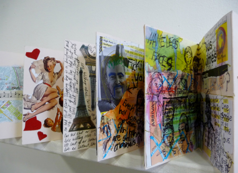 A JOURNEY, Joint work by the Book Binding Group