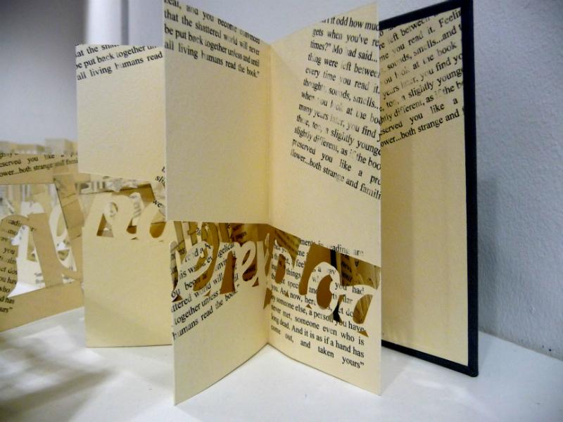 PAPER CUT BOOKS by Lauren Lavender
