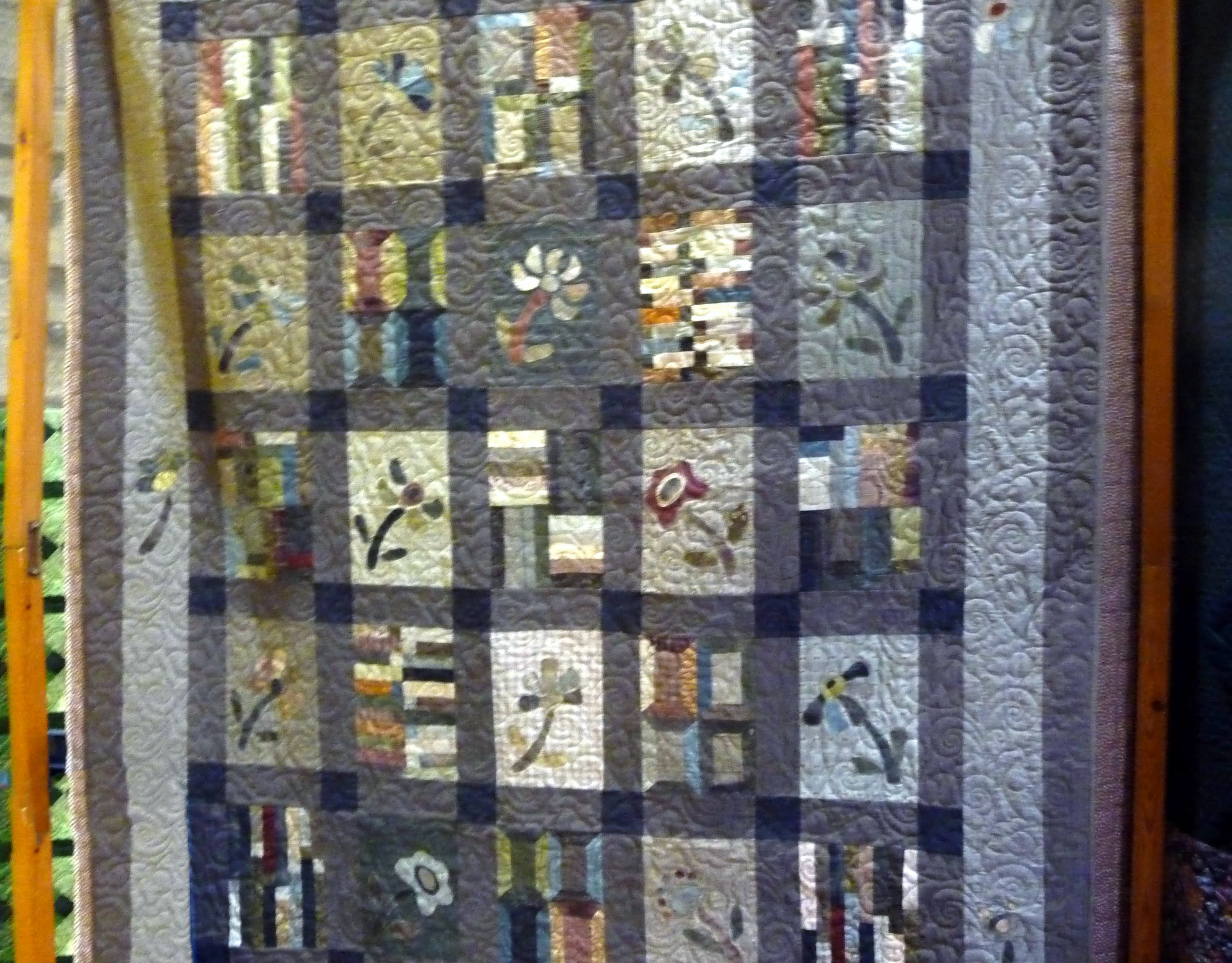 Quilt by Gill Chamberlain, Stitchin' Sisters Group