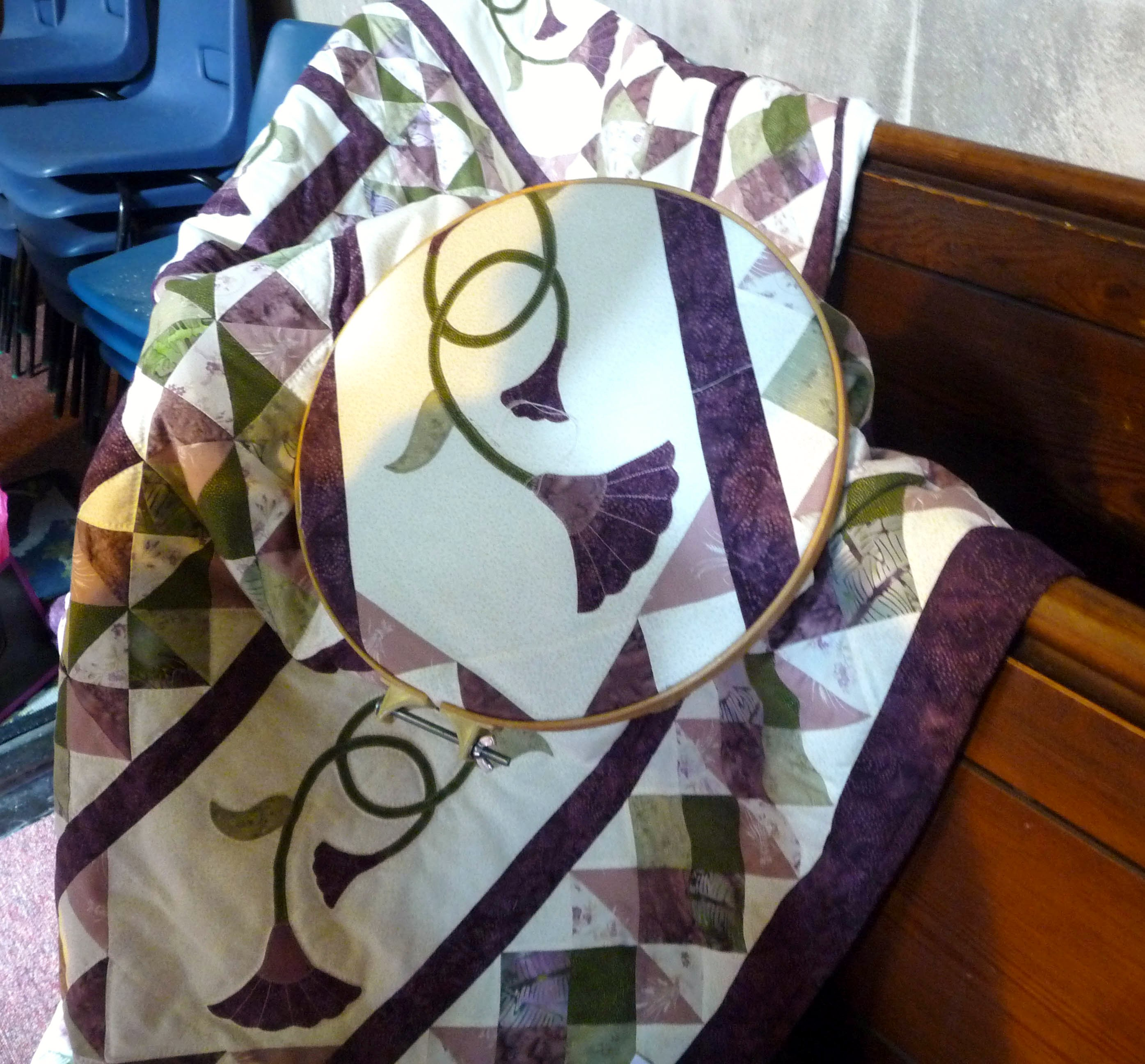 Quilt made by Margaret Smith, Allerton Piecemakers Group