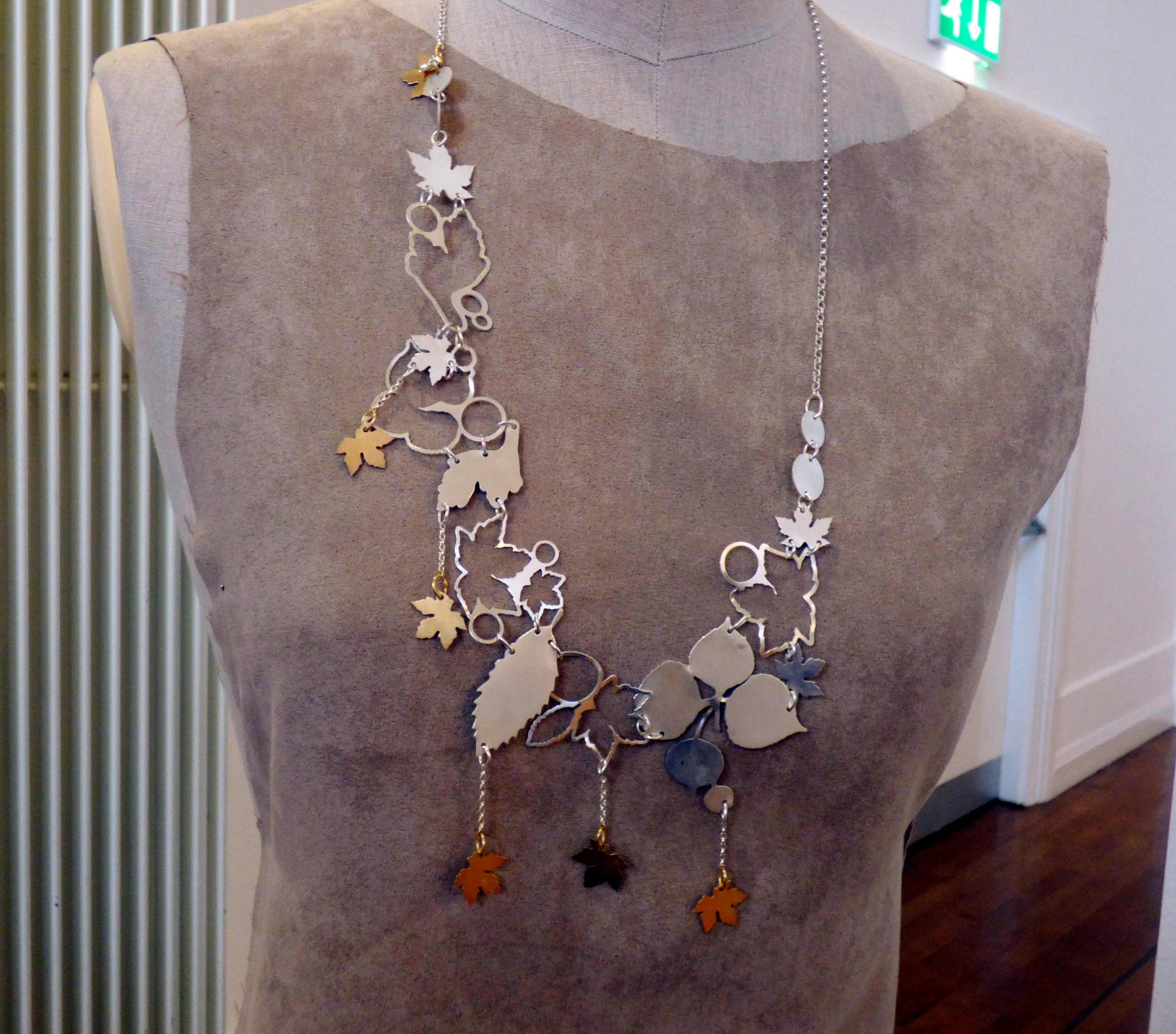 jewellery by Joanna Wood at Hope Univ Degree Show 2017