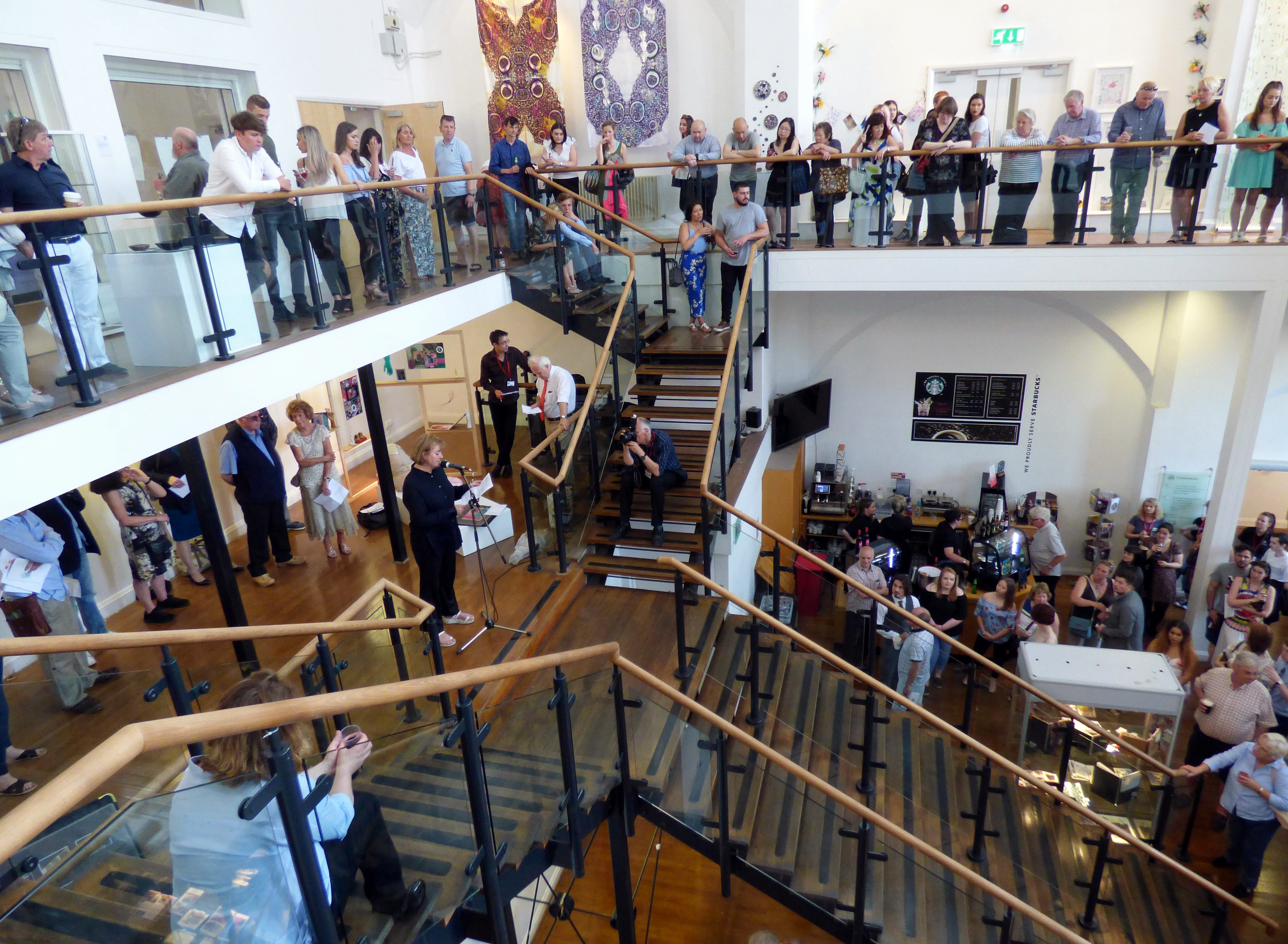 Hope University Textile and Fine Art Degree Show 2017