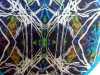 detail of fabric design by Catherine Dalton, BA Design, Hope Uni Final Degree Show 2018