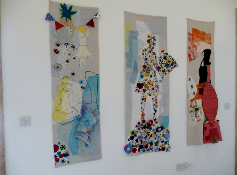 MAKING READY by Yvonne Deegan, Jennifer Whitfield, Katie whitfield and Marion Roberts, mixed media