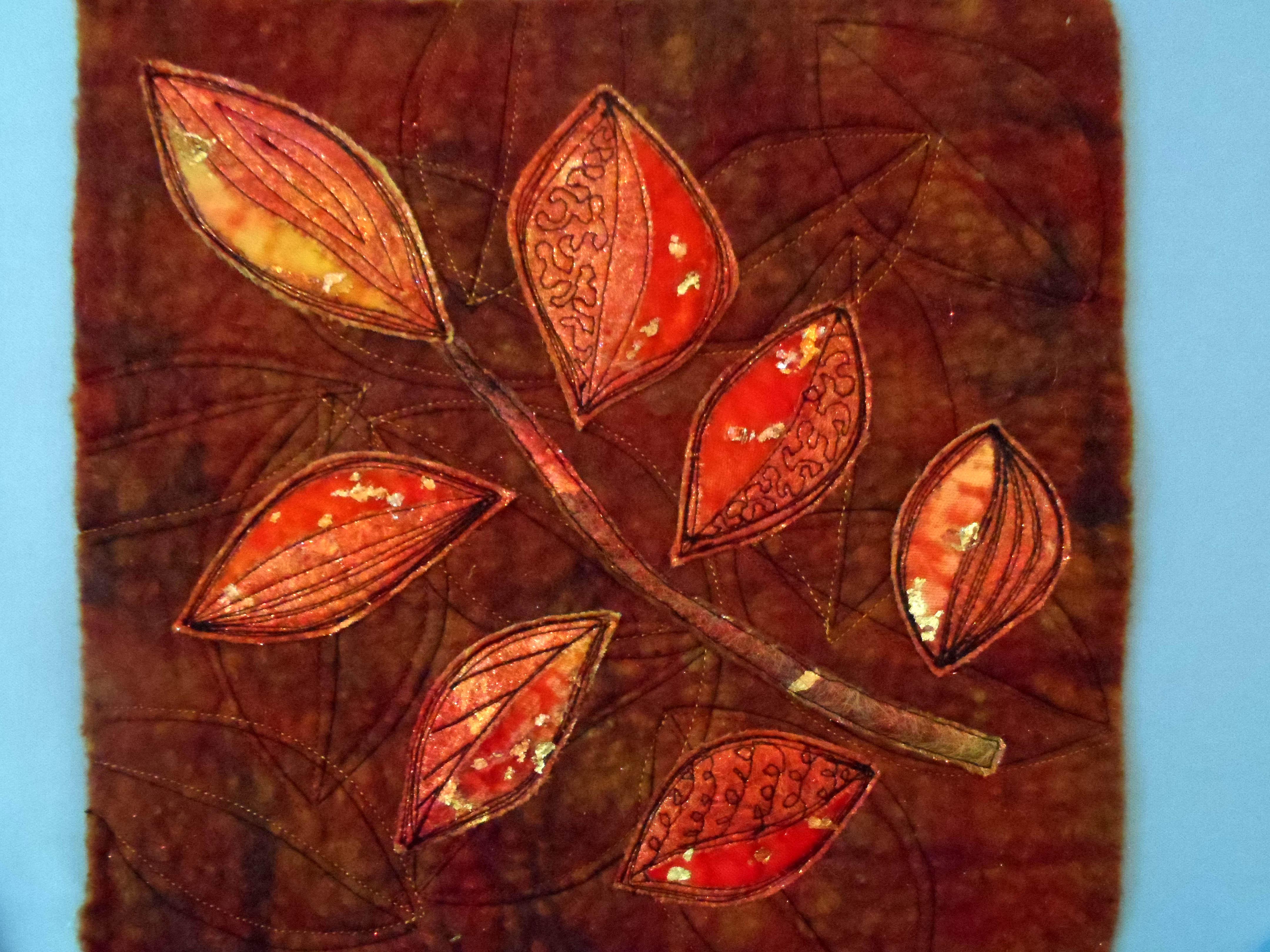 THE LAST LEAVES UPON THE TREE, Sally McGonagle, Skipton EG
