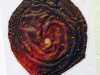 SURPRISE ME by Pamela Heaton, N.Wales EG, heat treated fabric to create texture