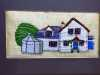 BRYN EITHIN by Marion Williams, N.Wales EG, hand embroidery