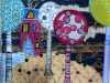 LOLLYPOPS by Alison Reynolds, N.Wales Eg, mixed media & stitch