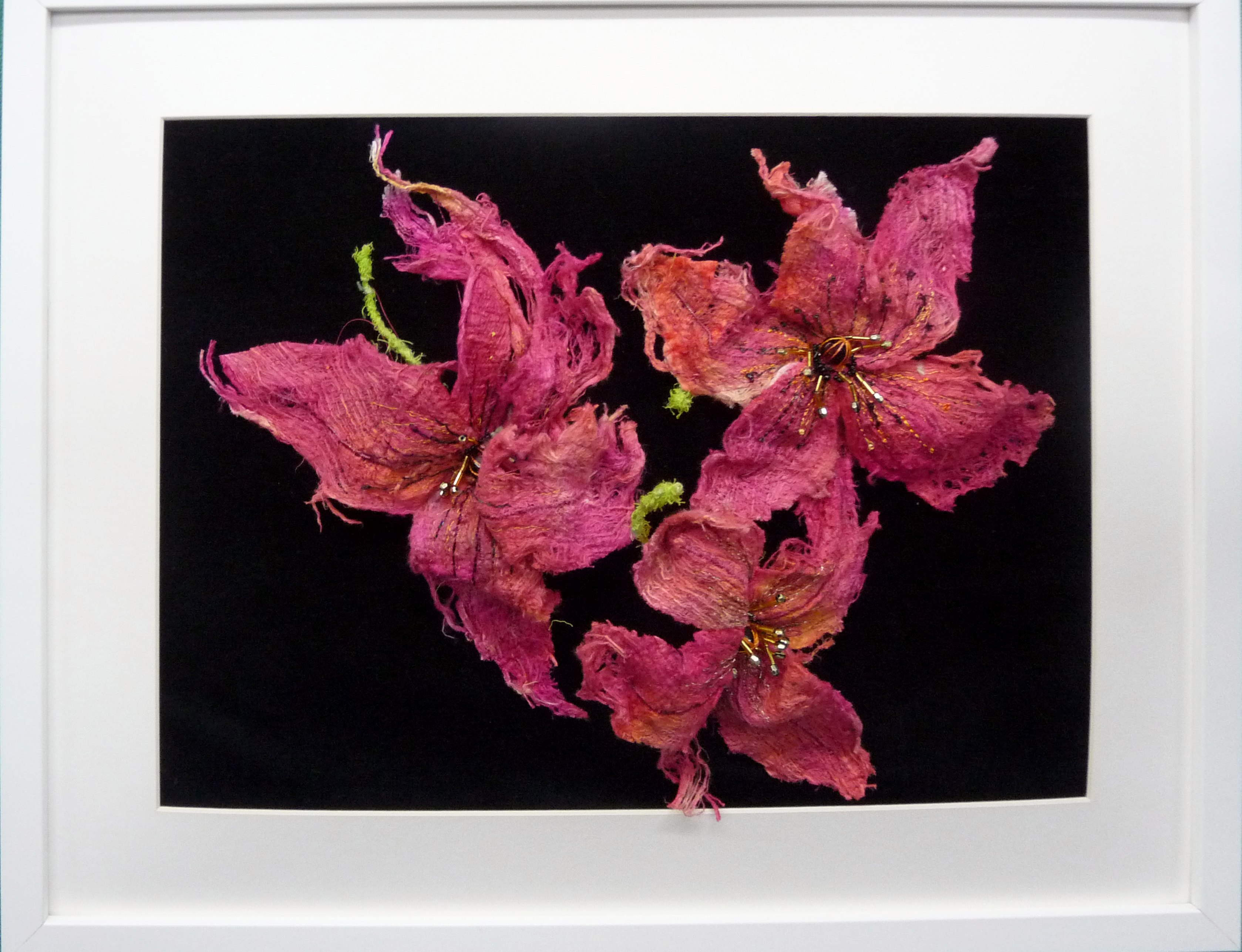 embroidery by Janet Vance