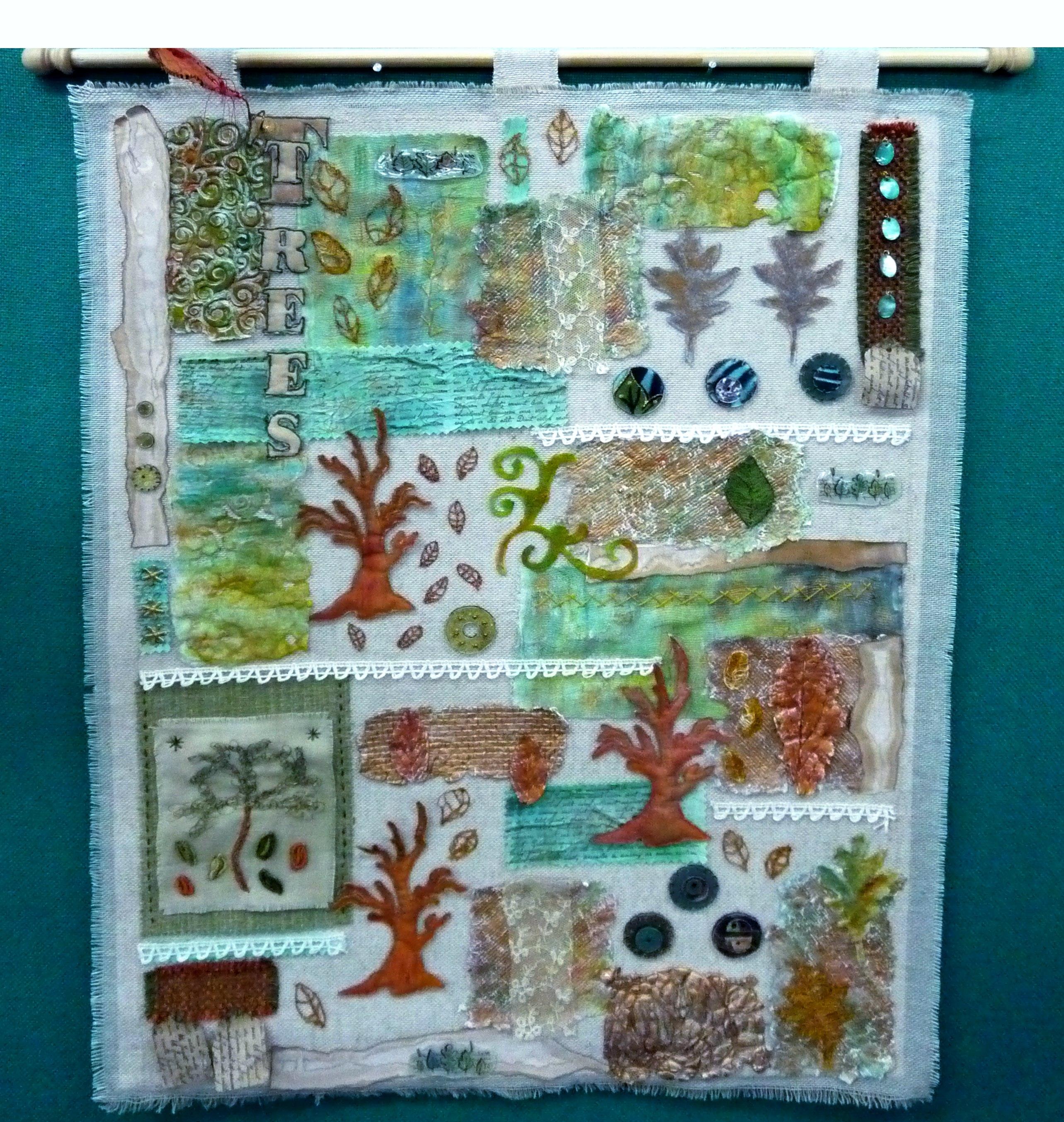 embroidery by Bridget Newbold