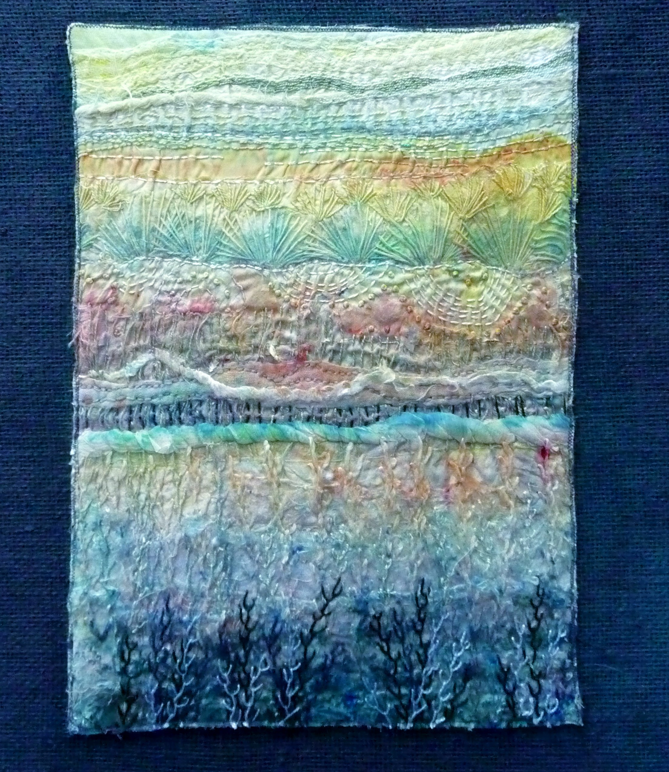 embroidery by Sue Tressider