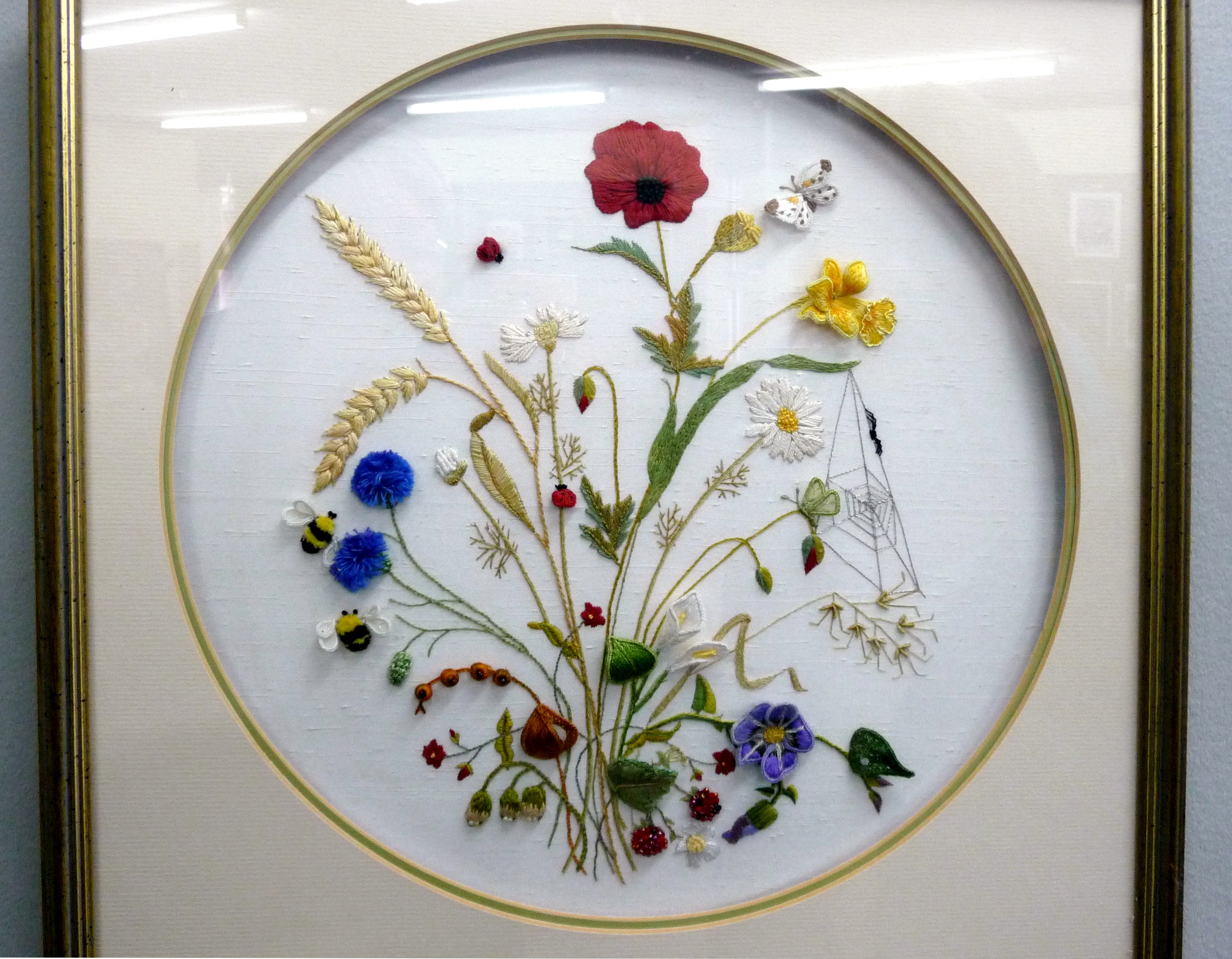 embroidery by Anne Greenhalgh