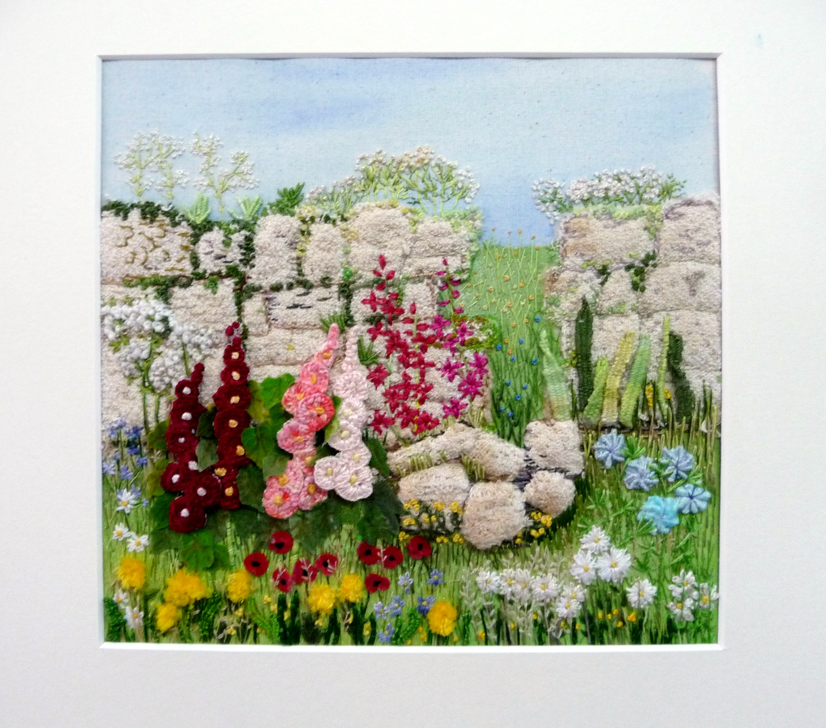 embroidery by Gill McKaigue