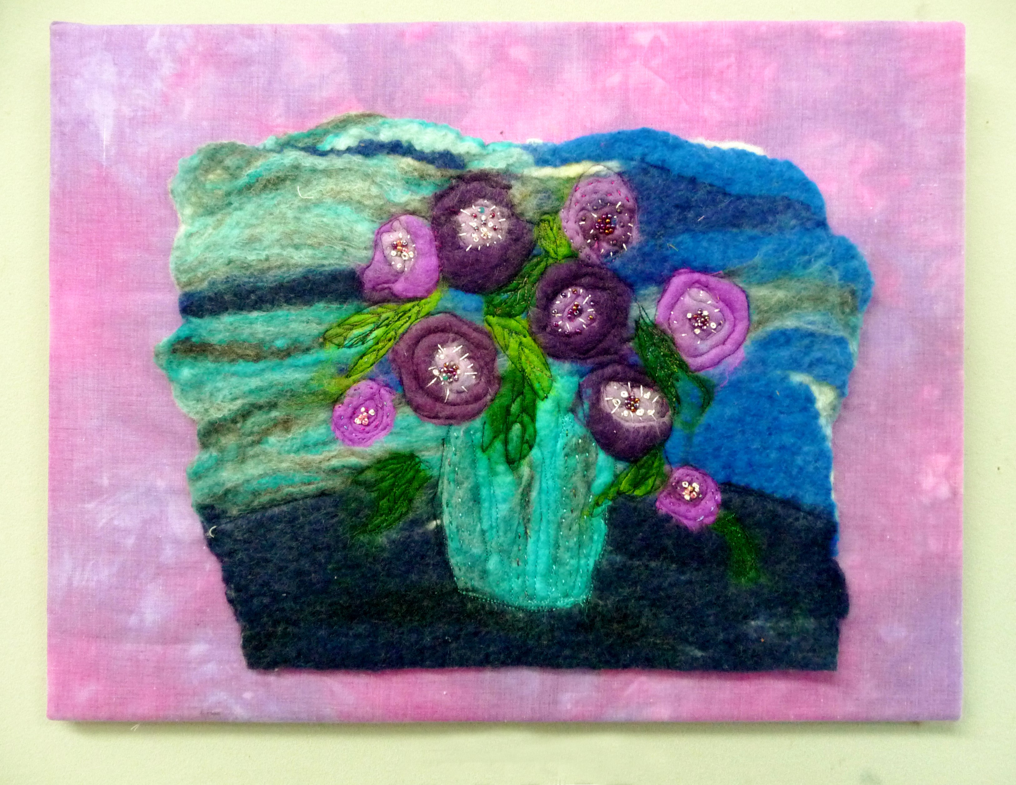 embroidery by Judith Fabby