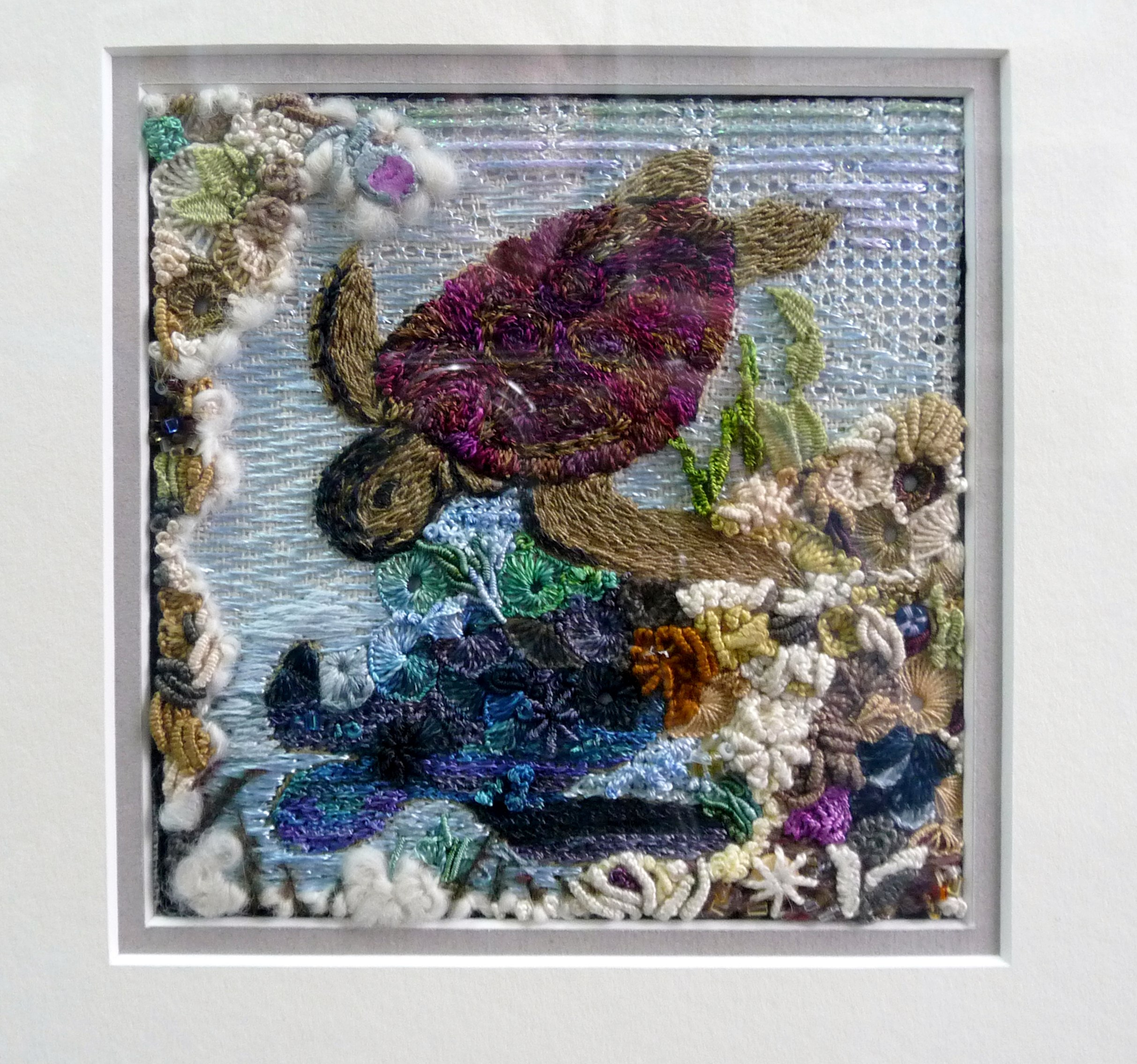 embroidery by Kate Cooke