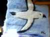 needlefelted panel by a member of Wirral Society of the Blind and Partially Sighted
