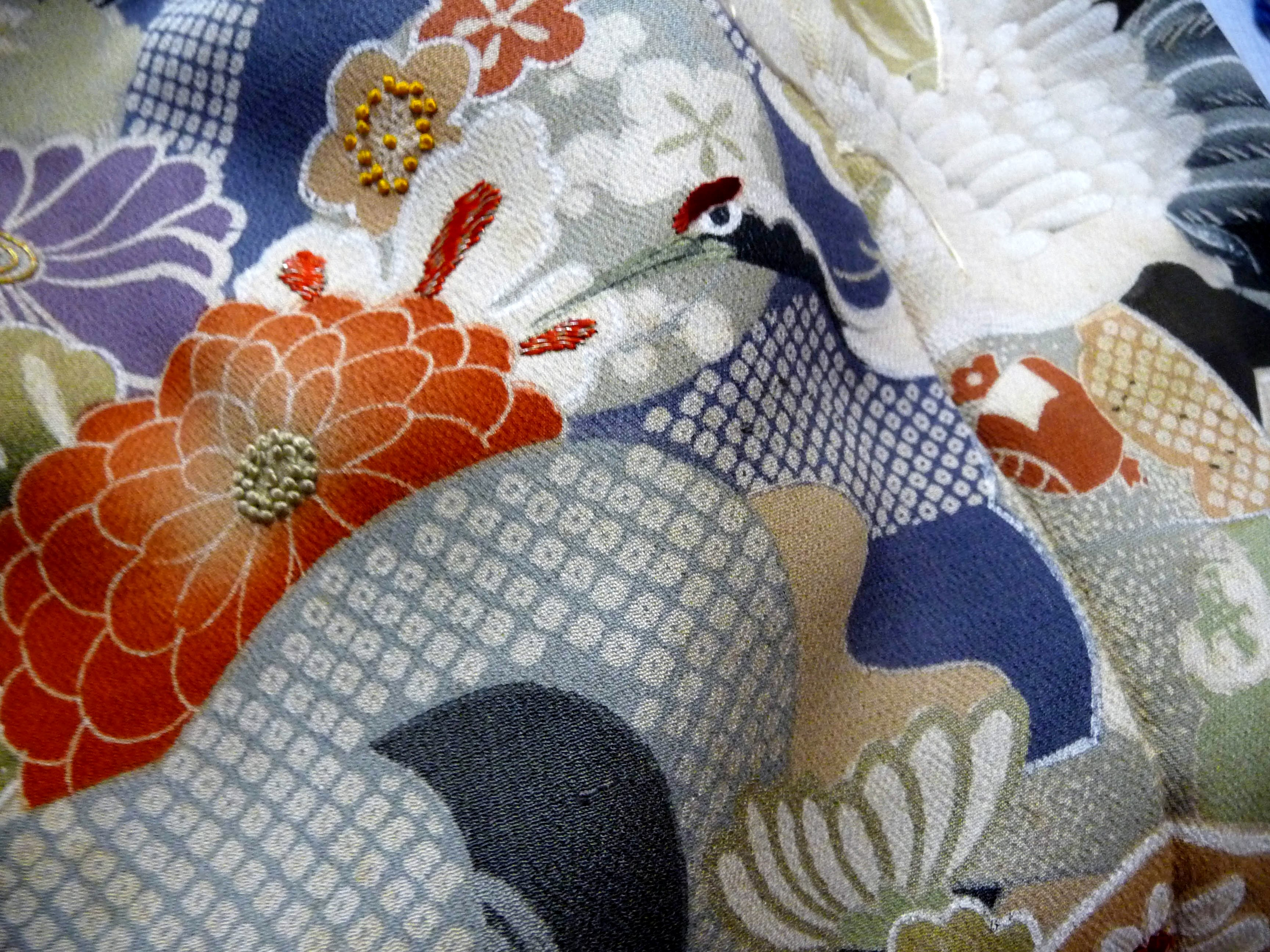 Japanese textile from Katie Chaplin's collection