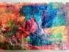 """work by Barbara Meynell at """"Laminated Tissue """" workshop on Zoom with Jenny O'Leary, January 2021"""